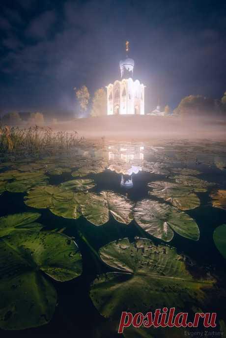 Храм Покрова на Нерли  Автор фото: Женя Зайцев