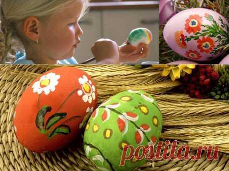 10 необычных способов украсить пасхальные яйца   Тысяча и одна идея