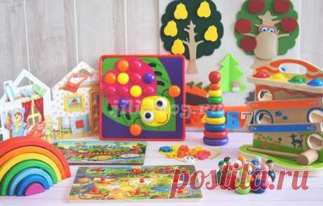 Развивающие игрушки для детей от 1 года | Жили-Были