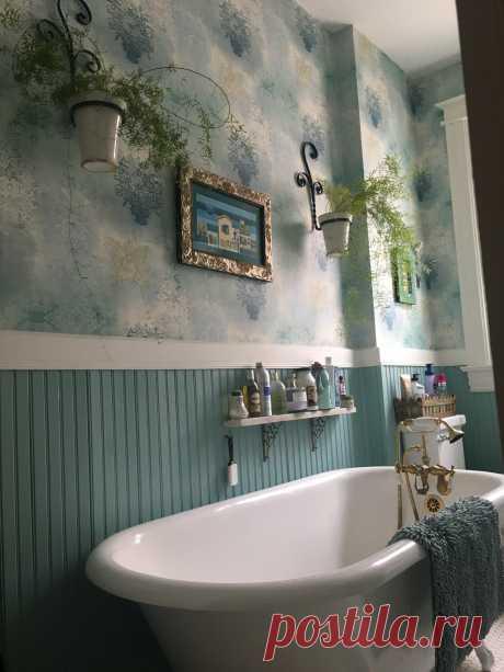 Vintage bath update - Викторианский - Ванная комната - Денвер - от эксперта Design a la Carte Inc   Houzz Россия