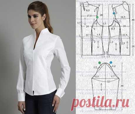 Моделирование блузок на разные случаи жизни — Сделай сам, идеи для творчества - DIY Ideas
