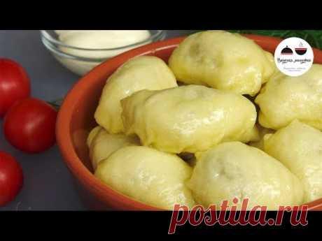 The most usual VARENIKI ON COUPLE Nezhneishy dough for any ̆ stuffings!