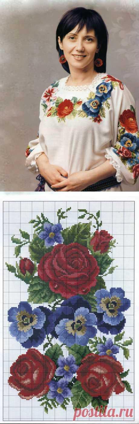 Вышиванка «Квiтуча доля» | Шкатулочка для рукодельниц