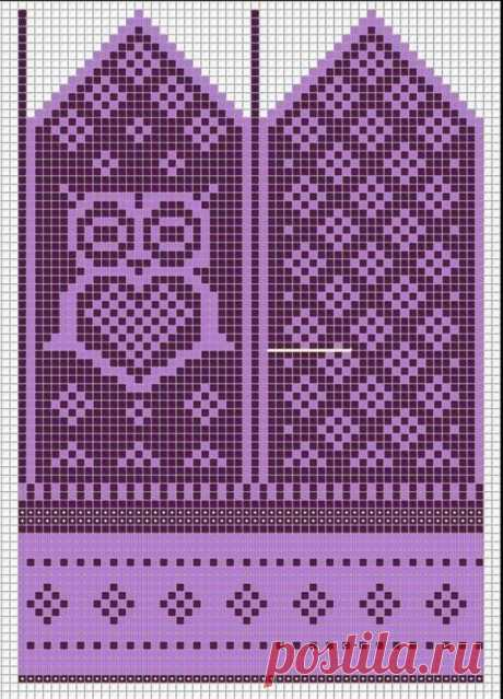 Орнаменты для варежек