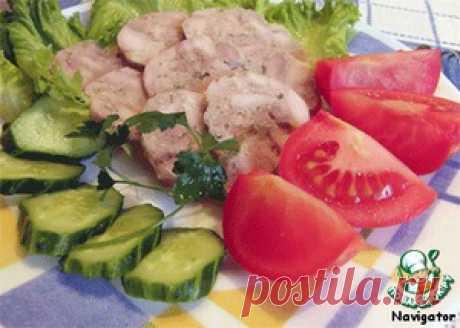 El embutido de gallina de casa la preparación rápida - la receta de cocina