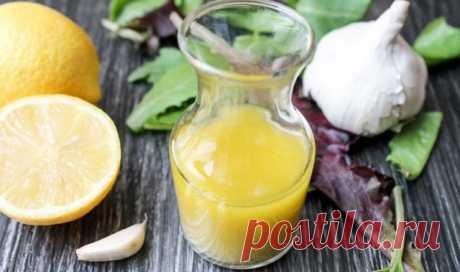 Чистка сосудов чесноком и лимоном — СОВЕТНИК