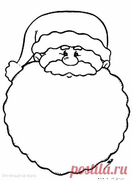 Шаблоны ДЕД МОРОЗ (88 картинок + схемы и выкройки).Шаблоны ДЕД МОРОЗ (88 картинок + схемы и выкройки). | Семейная Кучка
