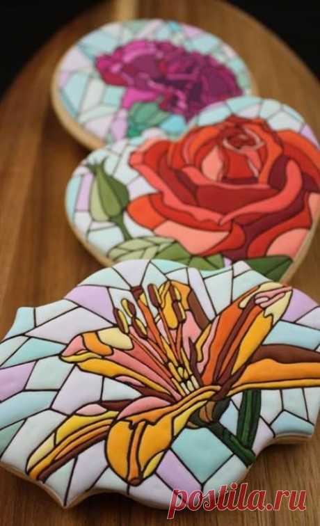 Страница 3 из 9 - Примеры тортов и пряников, украшенных айсингом, схемы - отправлено в Торты и пирожные: