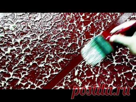 Wall putty texture latest painting design HD Brown & Gold.. Intzar Malik