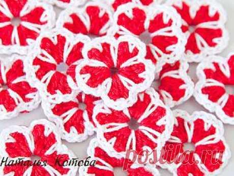 Цветочки с лепестками-сердечками - Ярмарка Мастеров - ручная работа, handmade
