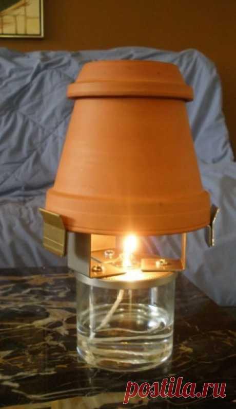 Как отопить комнату одной свечой — Сделай сам, идеи для творчества - DIY Ideas
