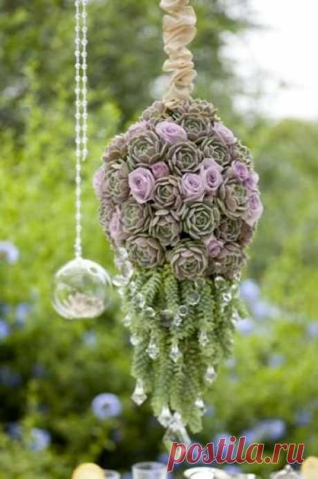 How to make a tableau vivant of succulents — brechkodesign