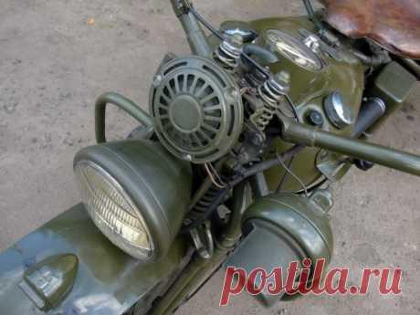 Harley Davidson WLA 1944
