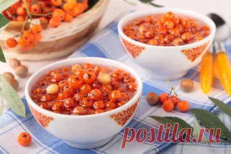 Рябина: рецепты заготовок на зиму