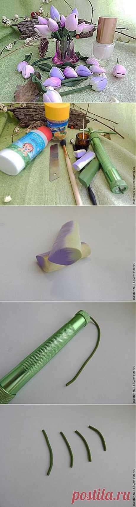 Мастер-класс: тюльпаны-крошки феи