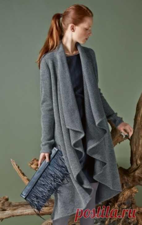 Coat with a shalevy collar - a pattern No. 113 of the magazine 10\/2014 Burda – a coat pattern on Burdastyle.ru