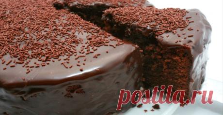 Обалденный шоколадный торт! Вкус - потрясающий!
