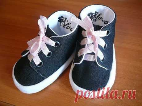 Шьём пинетки-ботиночки