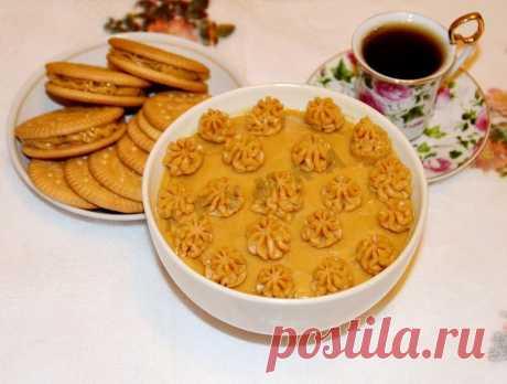 Карамельный крем для торта густой рецепт с фото пошагово - 1000.menu