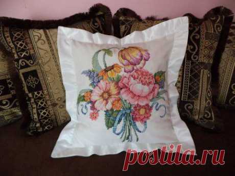 Декоративная подушечка | Золотые Руки