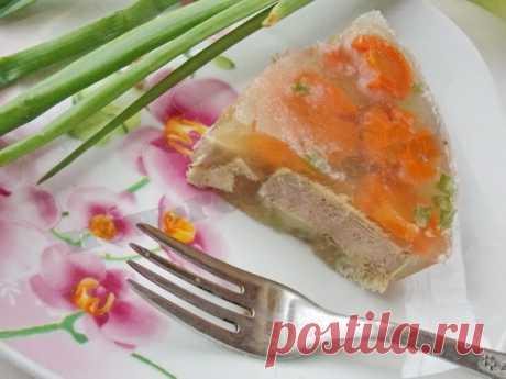 Как приготовить заливное из языка: рецепт с фото к праздничному столо!