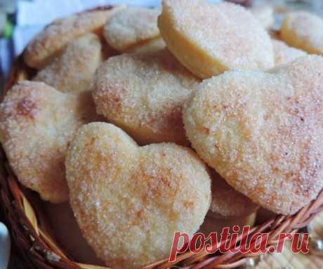 Как сделать бесподобное творожное печенье-слойку