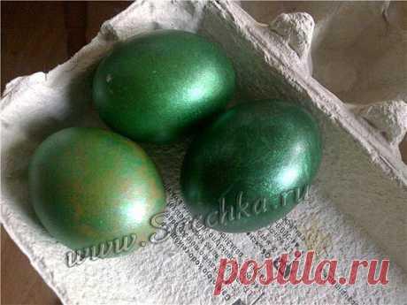 Как покрасить яйца в зелёный цвет   Рецепты на Saechka.Ru   Яндекс Дзен