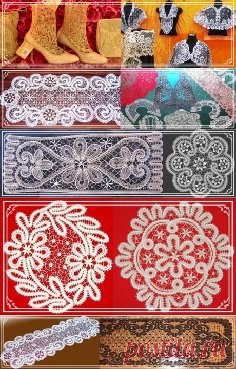 KRUZHEVOPLETENIE - el Centro vyatskogo de la artesanía (de Kirov) de encajes se encuentra en Sovetske (un antiguo arrabal de Kukarka de la provincia Vyatsky)...
