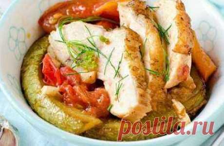 Куриная грудка с тертым кабачком рецепт | Кулинарный видео сайт