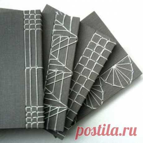 Как сшивать бумажные блокноты (подборка, Diy) / Бумага и карандаши (скрапбукинг, оригами, и т.д.) / ВТОРАЯ УЛИЦА