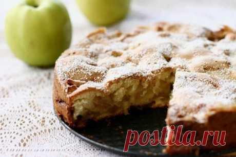 Диетическая яблочная шарлотка