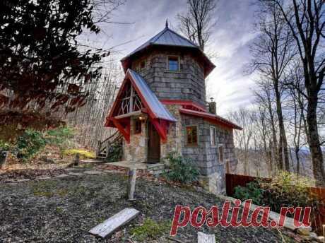 Настоящий мини-замок в Северной Каролине