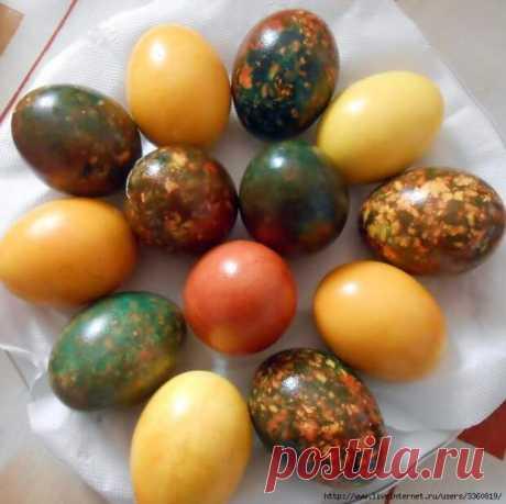 Красим яйца Оригинально!!