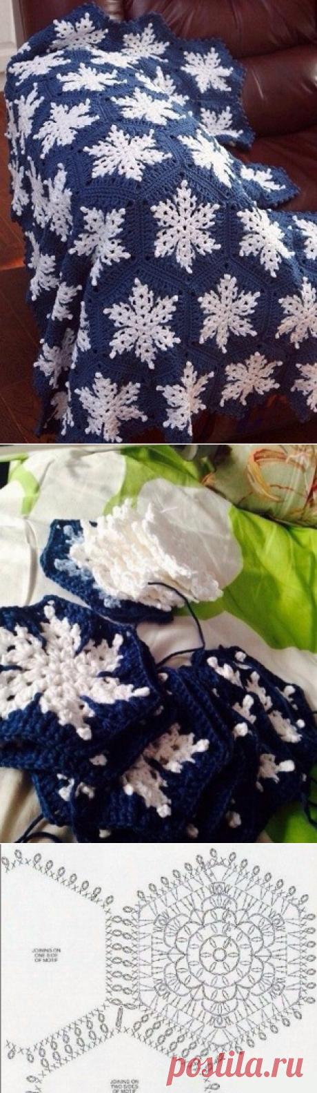 Плед крючком. Подборка красивых моделей со схемами | Модное вязание | Яндекс Дзен