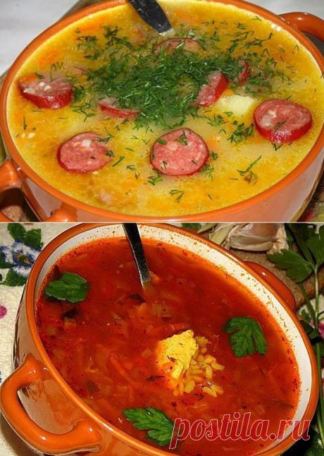 10 самых вкусных супов!