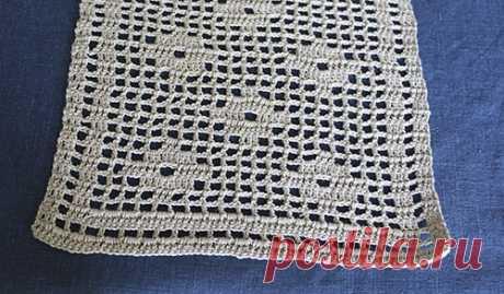 Филейное вязание узоры вставки пошаговое описание. Вяжем женские и детские вещи в технике филейное вязания, дайджест. Схема филейного вязания крючком скатерти