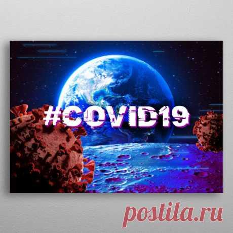 Coronavirus 2020 Covid19 Mancave Poster Print | metal posters - Displate