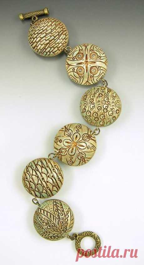 (11) bracelet polymer clay | DIY Jewelry