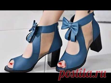 BEST FOOTWEAR COMFORT HEEL COLLECTION 2020 PARTY SANDALS STYLISH SHOES BEAUTIFUL DESIGN