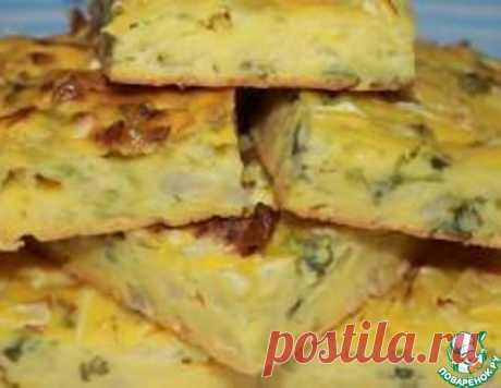 Простой заливной пирог – кулинарный рецепт