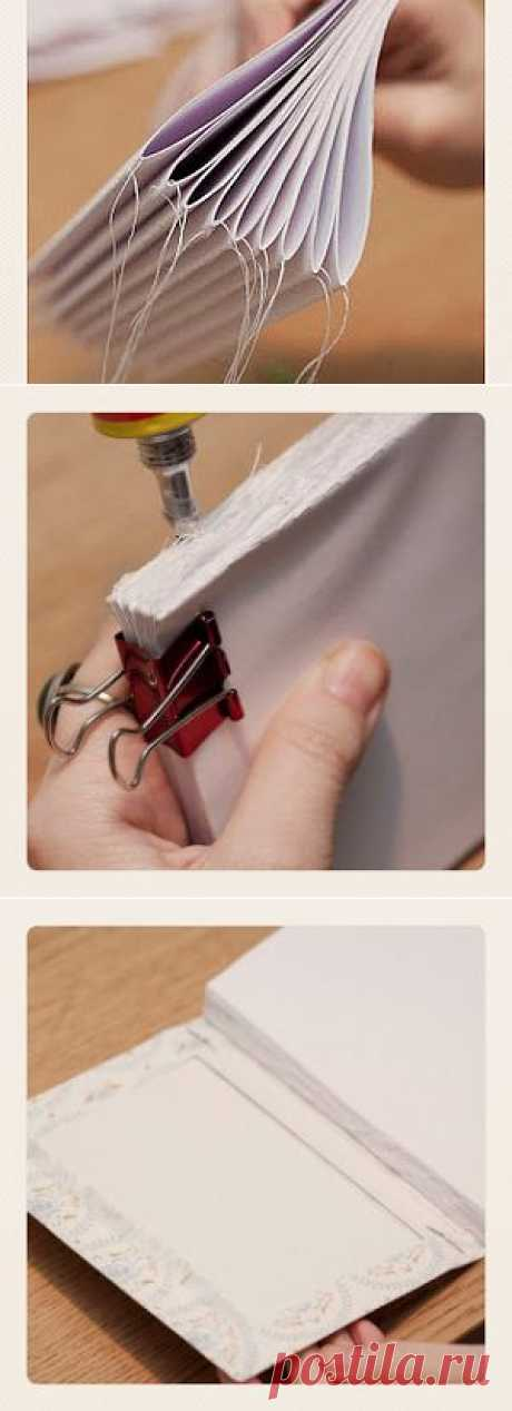 Быстрый переплет с помощью швейной машинки! - Ярмарка Мастеров - ручная работа, handmade