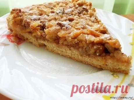 венгерский ореховый пирог с яблоками - Самое интересное в блогах