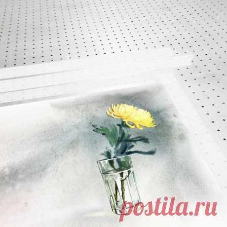 Работа техникой по сырому с проработкой по сухому. А потом она лежит на холодном столе. | Акварель с Сергеем Лелюх | Яндекс Дзен