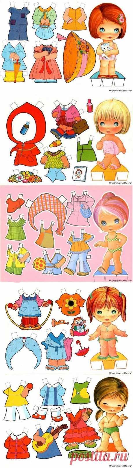 Детские вырезалки! / Бумага и карандаши (скрапбукинг, оригами, и т.д.) / ВТОРАЯ УЛИЦА