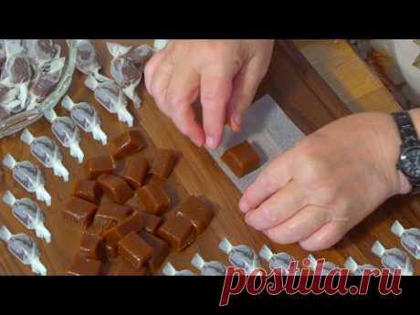 Вкусные карамельные конфеты всего из 3 ингредиентов