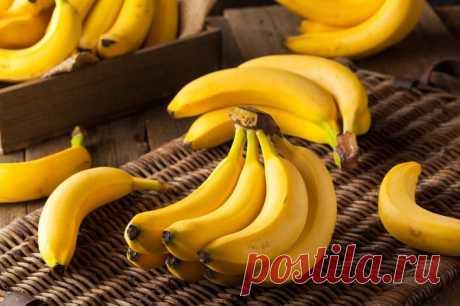 Сладкая польза: 12 причин есть бананы каждый день