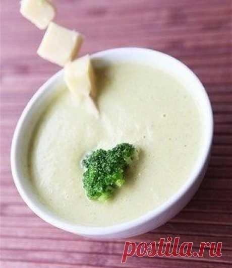 La sopa-puré de los calabacines