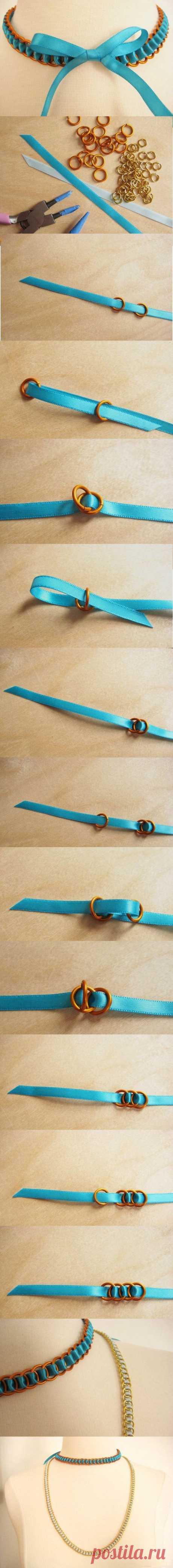 Крутим из узлов красивые браслеты и ожерелья