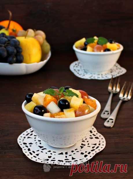 Фруктовый салат для детей — рецепт с фото пошагово