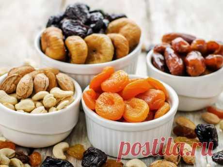 Вкусная диета: худеем на сухофруктах Хотите сбрасывать вес вкусно, при этом не продумывая сложный рацион? Тогда диета на сухофруктах и орехах - это ваш выбор.Диета на сухофруктах и орехах при соблюдении всех правил позволяет сбросить до ...